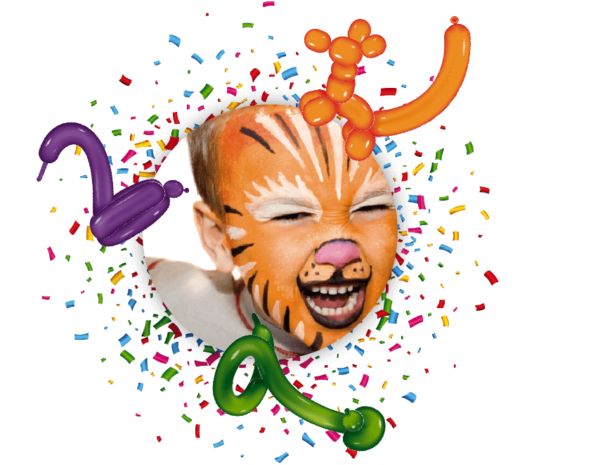 Programas de Animação Pintura e Balões
